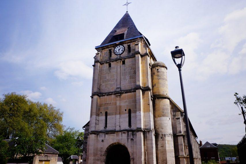 église saint etienne du rouvray