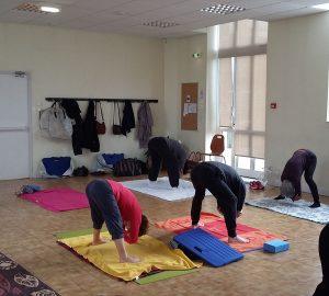 Hatha Yoga et Yoga doux avec Aline Jardin à Sainte-Savine