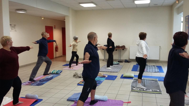 Cours de Yoga avec Aline Jardin Sainte-Savine