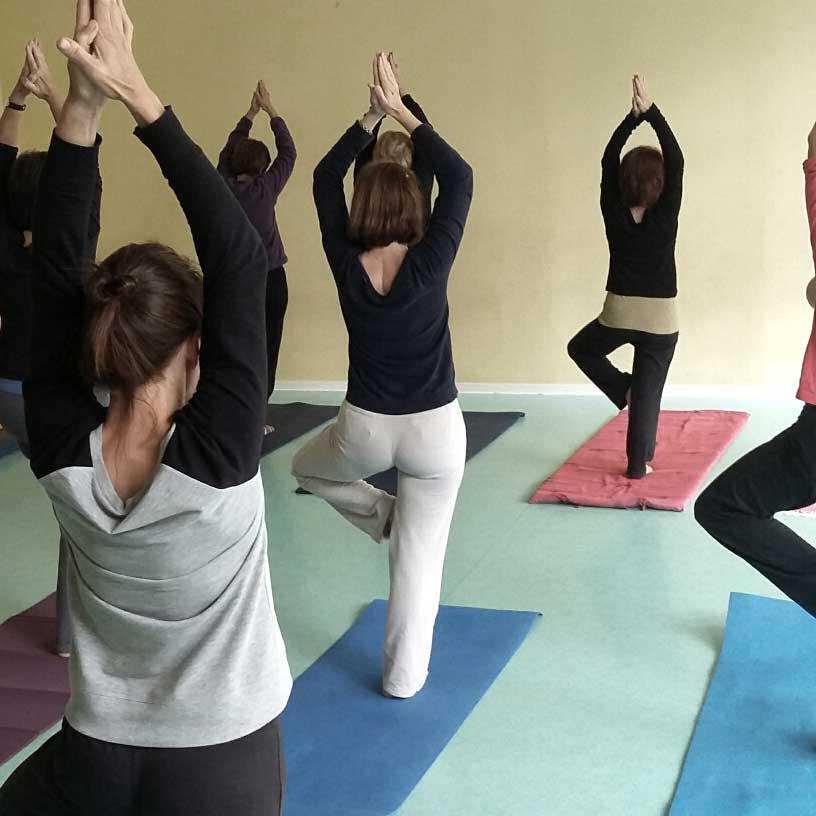 Cours de Yoga avec Marie-Christine Sailhac