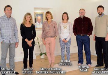 Martyn Neal avec l'équipe des enseignants