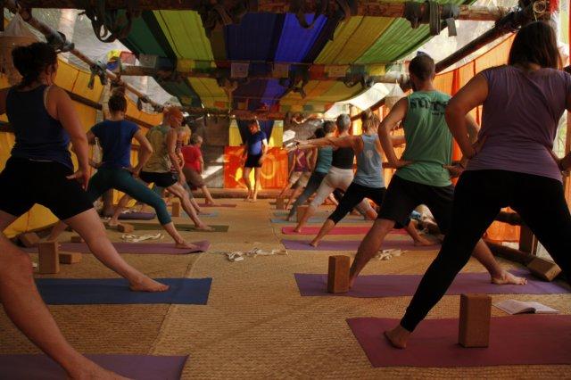 Cours de Yoga Iyengar avec Gregory et