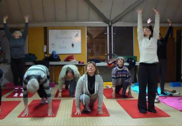 Cours de Yoga à Saint-Julien-les-Villas avec Michelle Giarrusso