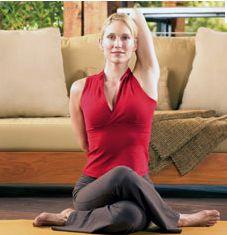 posture hatha yoga  posture face de vache  gomukhasana