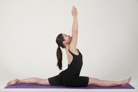 posture hatha yoga  les fentes  hanumanasana